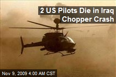 2 US Pilots Die in Iraq Chopper Crash
