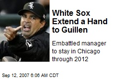 White Sox Extend a Hand to Guillen