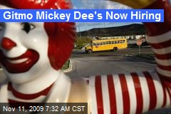 Gitmo Mickey Dee's Now Hiring
