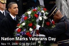 Nation Marks Veterans Day