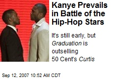 Kanye Prevails in Battle of the Hip-Hop Stars