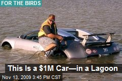 This Is a $1M Car—in a Lagoon