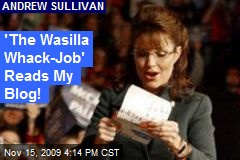 'The Wasilla Whack-Job' Reads My Blog!