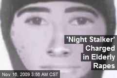 'Night Stalker' Charged in Elderly Rapes