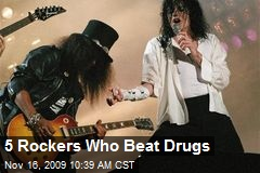 5 Rockers Who Beat Drugs