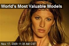World's Most Valuable Models