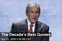 The Decade's Best Quotes