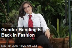 Gender Bending Is Back in Fashion