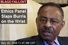 Ethics Panel Slaps Burris on the Wrist