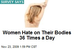 Women Hate on Their Bodies 36 Times a Day