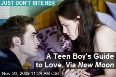 A Teen Boy's Guide to Love, Via New Moon