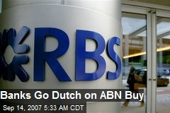 Banks Go Dutch on ABN Buy