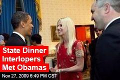 State Dinner Interlopers Met Obamas