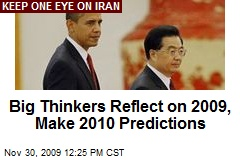 Big Thinkers Reflect on 2009, Make 2010 Predictions