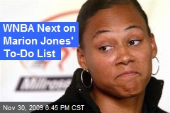 WNBA Next on Marion Jones' To-Do List