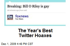 The Year's Best Twitter Hoaxes