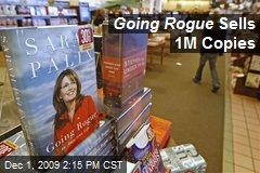 Going Rogue Sells 1M Copies