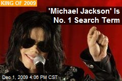 'Michael Jackson' Is No. 1 Search Term