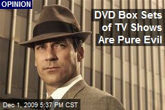 DVD Box Sets of TV Shows Are Pure Evil
