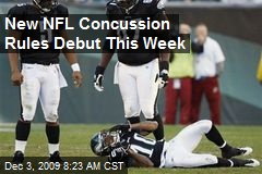 New NFL Concussion Rules Debut This Week