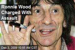 Ronnie Wood Charged With Assault