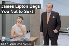 James Lipton Begs You Not to Sext