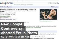 New Google Controversy: Aborted Fetus Photo