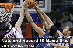 Nets End Record 18-Game Skid