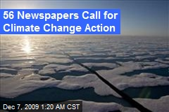 56 Newspapers Call for Climate Change Action