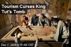 Tourism Curses King Tut's Tomb