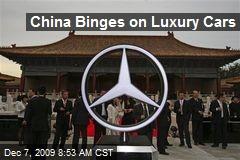 China Binges on Luxury Cars