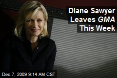 Diane Sawyer Leaves GMA This Week