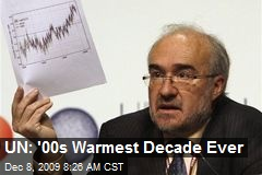 UN: '00s Warmest Decade Ever