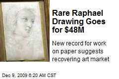 Rare Raphael Drawing Goes for $48M