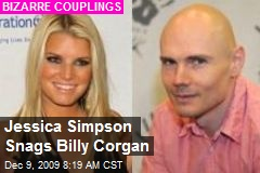 Jessica Simpson Snags Billy Corgan