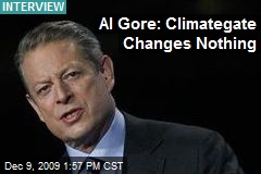 Al Gore: Climategate Changes Nothing
