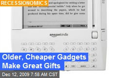 Older, Cheaper Gadgets Make Great Gifts