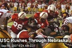 USC Rushes Through Nebraska
