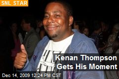 Kenan Thompson Gets His Moment