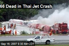 66 Dead in Thai Jet Crash