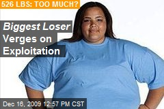 Biggest Loser Verges on Exploitation