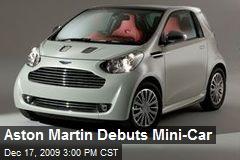 Aston Martin Debuts Mini-Car