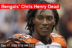 Bengals' Chris Henry Dead