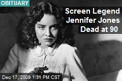 Screen Legend Jennifer Jones Dead at 90