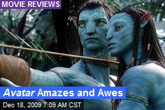 Avatar Amazes and Awes