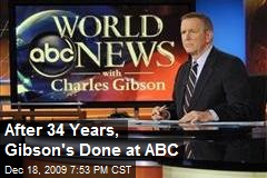 After 34 Years, Gibson's Done at ABC