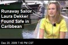 Runaway Sailor Laura Dekker Found Safe in Caribbean