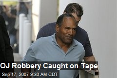 OJ Robbery Caught on Tape