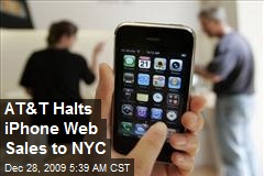 AT&T Halts iPhone Web Sales to NYC