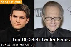 Top 10 Celeb Twitter Feuds